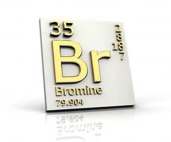 Br Protons Bromine Bromine