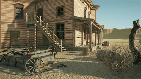 New House Blueprints by Hq Western Saloon By Notlonely In Environments Ue4