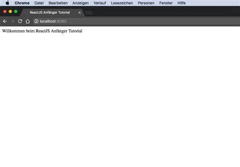 laravel reactjs tutorial reactjs anf 228 nger tutorial kleine demo wie du starten