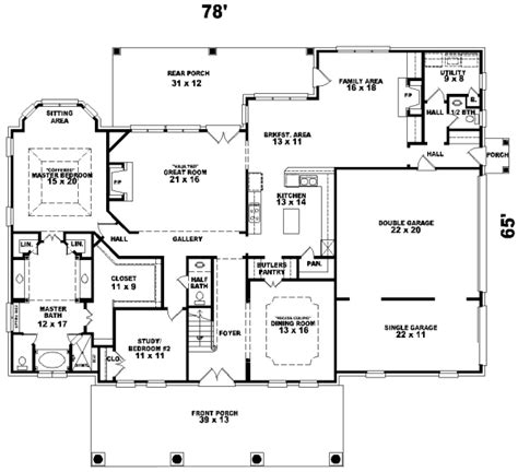 plantation style floor plans plantation style house plans plan 6 1173