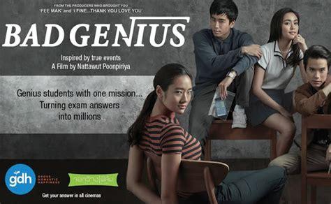 film thailand tentang mencontek arul s movie review blog bad genius 2017 review