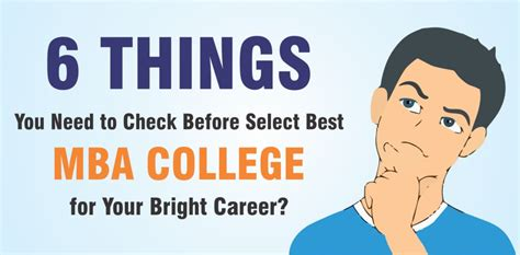 How To Select A College For Mba by 6 Things You Need To Check Before Select Best Mba College