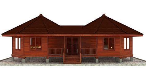 homes plans hana hale design octagonal floor plans teak bali