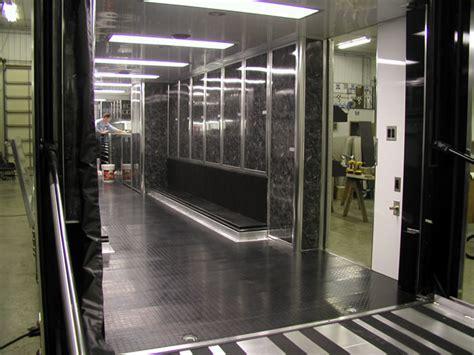 Cer Trailer Interior Ideas by Image Gallery Semi Trailer Interior