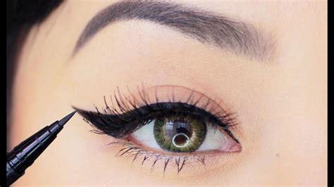 liquid eyeliner tutorial dailymotion eyeliner makeup tutorial for beginners how to apply