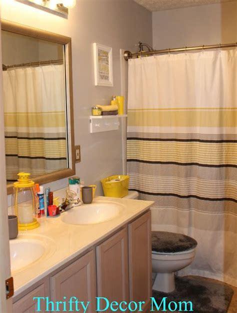 images  gray  yellow bathroom  pinterest
