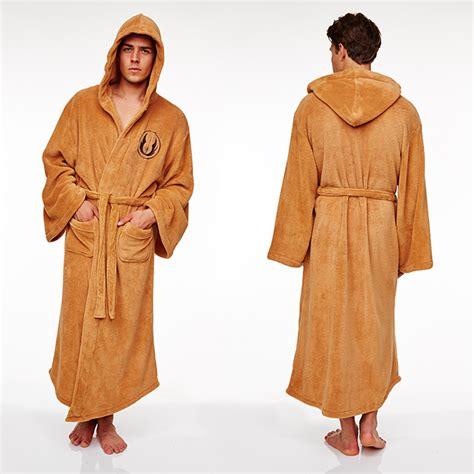mens jedi robe wars s bathrobe darth vader jedi r2d2 chewbacca
