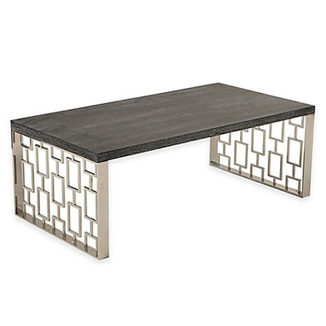 Coffee Table Toronto Buy Toronto Coffee Table In Charcoal From Bed Bath Beyond