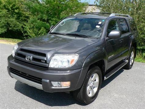 2004 Toyota 4runner Sr5 V8 Toyota 4runner Limited 2004 Massachusetts Mitula Cars