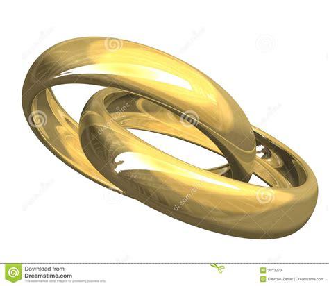 Hochzeitsringe Gold by Hochzeitsringe Im Gold 3d Stockfotos Bild 3013273