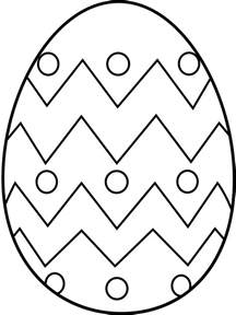 free printable easter egg coloring pages depetta