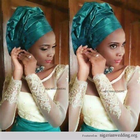 Nigerian Wedding french lace & velvet ore iyawo aso ebi