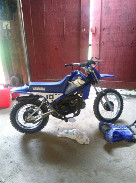 80cc motocross bikes for i got a new 80cc yamaha dirt bike dirt bikes pinterest