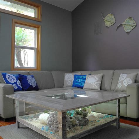 Coastal themed living room modern living room san diego by