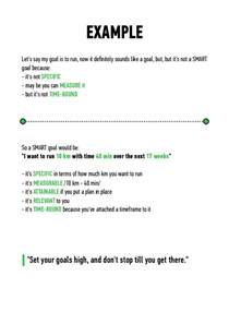 personal goals and objectives template smart personal goals