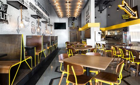 Fast Casual Kitchen Layout by Photos Chix Hospitality Design