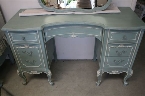 chalk paint vanity reloved rubbish duck egg blue vanity
