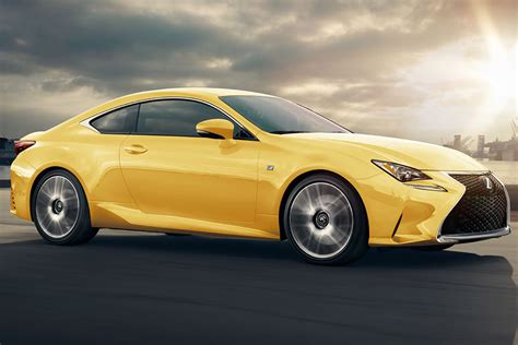 lexus rc lexus rc and rc f updated with tech for 2018 auto