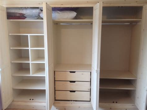 In Wardrobe Storage by Fitted Wardrobe Storage 2 Tennyson