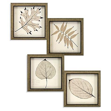 bed bath and beyond paintings art leaf wall art bed bath beyond