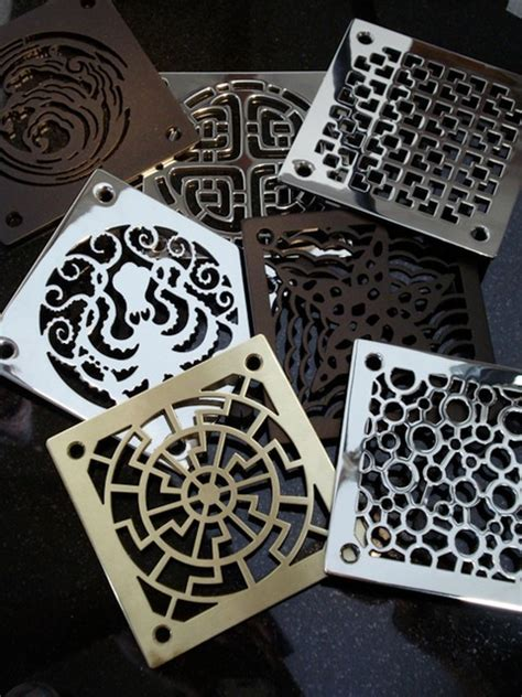 Bathroom Shower Drain Covers Designer Drains Collection Contemporary Bathroom Sink