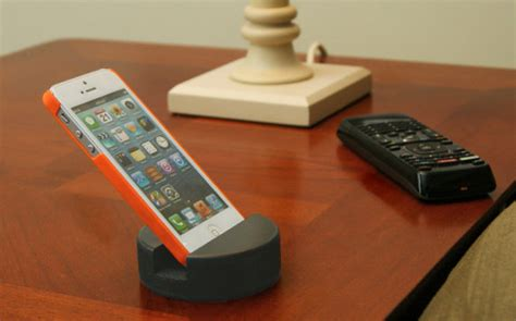 Will The Real Iphone Stand Up Chip by Cell Phone Stand Made From A Real Hockey Puck Iphone