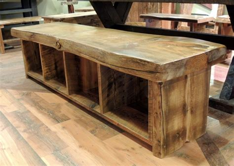 rustic bench barnwood dining room furniture rustic dining benches other metro by four