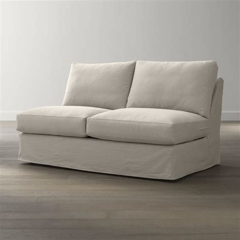 sleeper sofa slipcover full slipcover only for axis ii armless sectional full sleeper