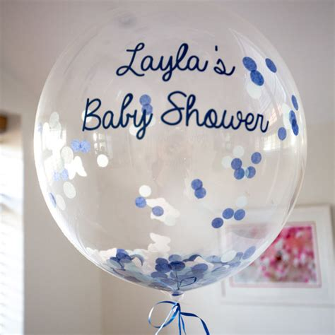 personalised confetti filled balloons amazingballoons co uk