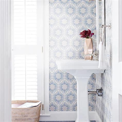 bathroom wallpaper canada bathroom wallpaper 4 looks we love canadian living