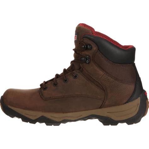 comfortable waterproof work boots comfort waterproof work boots rocky retraction rkk0120