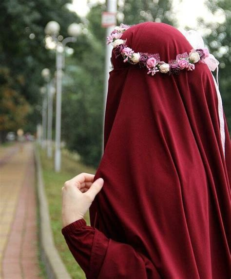 Jilbab Saudi Bd Flower flower crown for a niqabi jilbab crochet niqab and flower crowns