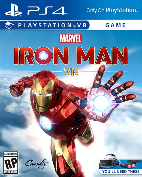 marvels iron man vr ps announced trailer