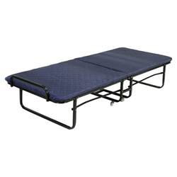 Best Portable Guest Bed Folding Bed Foam Mattress Roll Away Guest Portable Sleeper Blue Ebay