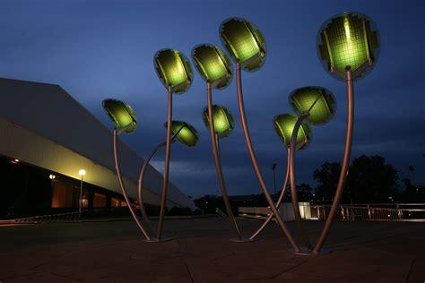 solar light trees mph architects solar trees