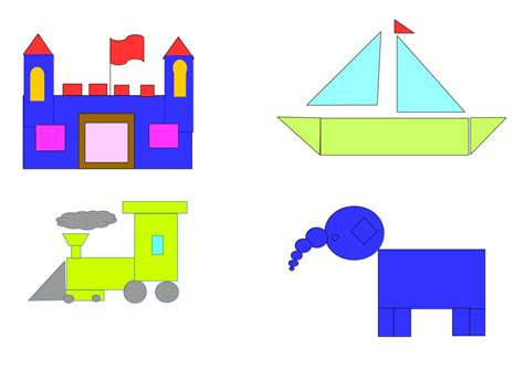 figuras geometricas con imagenes escuela italiana primaria dibujos con formas geom 233 tricas
