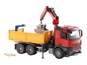 bruder trucks bruder mb arocs construction truck billig