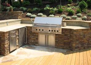 Backyard Built In Bbq Ideas This Look For The Bbq Area