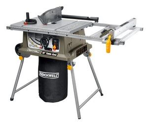 porter cable table saw pcb222ts side by side comparison for rockwell table saw rk7241s vs
