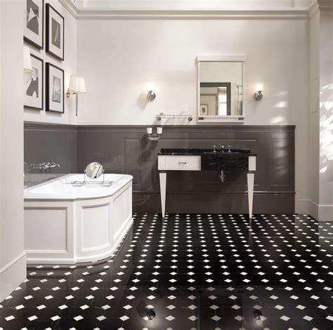 pavimento bianco e nero arredare casa con pavimento in marmo foto design mag
