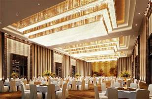 Diy Wall Draping Luxurious Banquet Hall Lighting And Wall Design Rendering