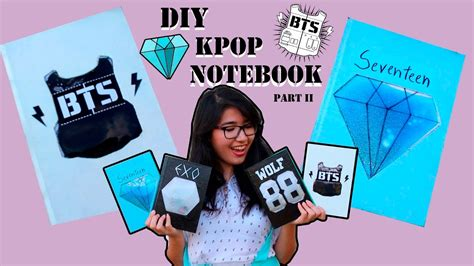 kpop bts notebook notepad i am a r m y and i my oppa 108 pages 8 5 x 11 20 line pages books diy kpop liquid notebook bts seventeen part 2