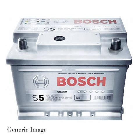 bmw 520 battery bmw 5 series e60 520d bosch s5 silver car battery type