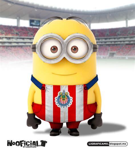 imagenes de minions vestidos del america soccer minion chivistas sports minions pinterest