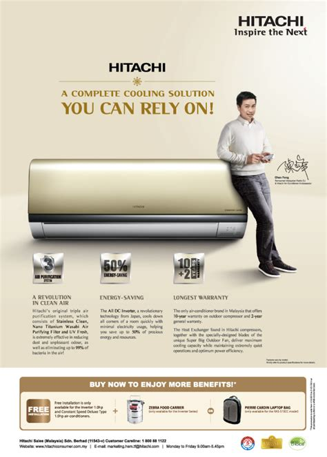 hitachi air conditioner  complete cooling solution   rely  malaysia hitachi home