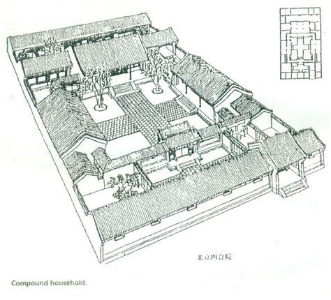 siheyuan floor plan a siheyuan a style of chinese courtyard house asian