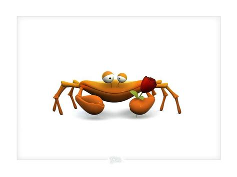 wallpaper 3d cartoon animal 3d crab funny 3d cartoon crab wallpaper 20 wallcoo net
