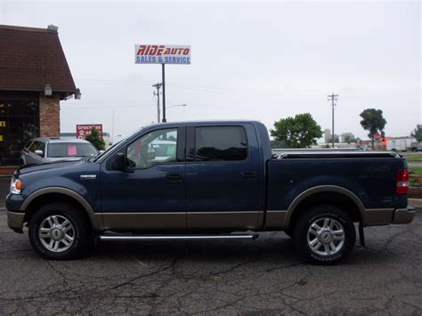 ford truck blue ride auto 2004 ford f150 blue