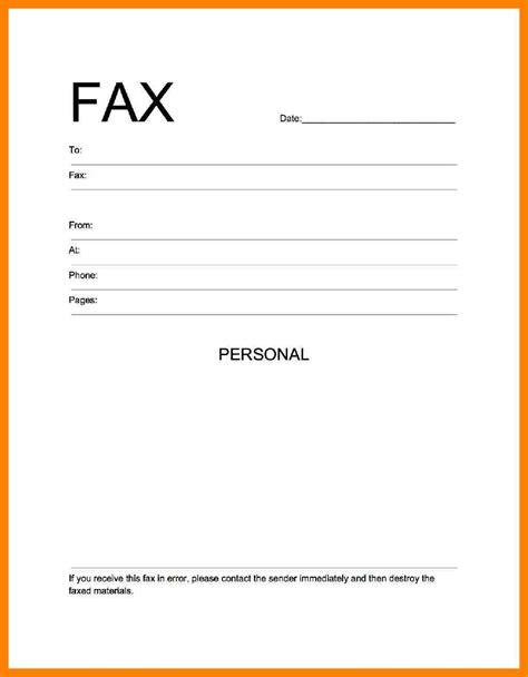 5 exles of fax cover sheet emt resume