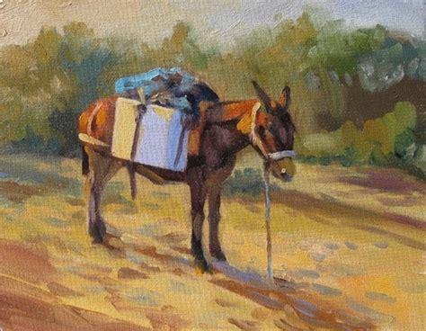 painting workshop horses equine for sale elin pendleton